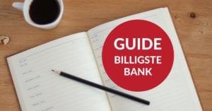 guide til billigste bank og banklån